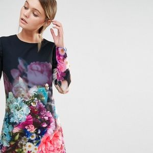 NWT Ted Baker London 'Vyra' Floral Tunic Dress